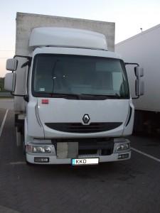 Renault Midlum 5,5 t teherbírással